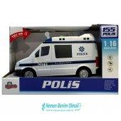 Oyuncak Kutulu Işıklı Sesli Sürtmeli 1 16 Polis...