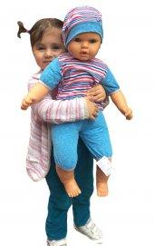 Oyuncak Büyük Boy Et Bebek Elbiseli 65 Cm Et...