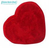 Peluş Kalp Kutu Orta Boy 27 x 29 Cm -2