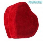 Peluş Kalp Kutu Orta Boy 27 x 29 Cm -3