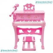 Oyuncak 37 Tuşlu Mikrofonlu Büyük Piano...