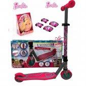 Barbie 2 Tekerli Frenli Çocuk Scooter Barbie...