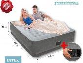 İntex 64414 Elektrikli Confort Plus Yüksek Yatak
