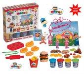 Oyuncak Pepee Hamburger Oyun Hamuru Seti