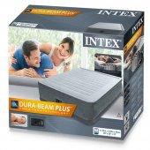 İntex 64414 Elektrikli Confort Plus Yüksek Yatak-4
