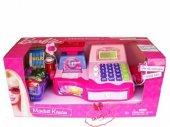 Barbie Yazar Kasa Mikrofonlu Market Kasası
