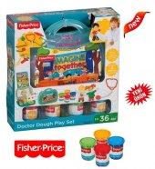 Fisher Price 4 Lü Oyun Hamuru + Fisher Price...