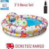 Intex Yıldız Desenli Havuz 5 Li Set Fırsat Ürün...