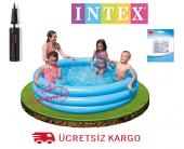 Intex Kristal Mavi 3 Boğumlu Havuz 168x38 Cm