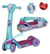 Frozen Katlanabilir 4 Tekerlekli Çocuk Scooter