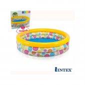 Intex Geometri Desenli Şişme Çocuk Havuzu 58449...