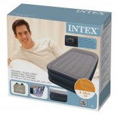 Intex 64132 Elektrikli Dura-Beam Şişme Yatak 99x191x42 Cm Fiber-Tech-4