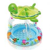 Intex Kaplumbağa Gölgelikli Bebek Havuzu...