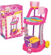 Barbie Arabalı Temizlik Seti Yeni Lisanslı