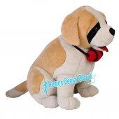 Peluş Köpek Oturan Saınt Bernard 92 Cm-2