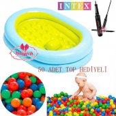 Intex Bebek Banyo Oyun Havuzu Pompa 50 Adet...