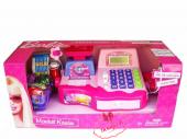 Barbie Mikrofonlu Market Kasası