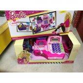 Barbie Mikrofonlu Market Kasası Hesap Makinesi