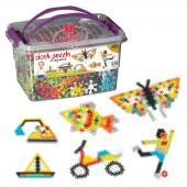 Dede Toys Çiçek Puzzle Box 500 Parça Kovalı Set...