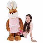 Peluş Bayan Tavşan Büyük Boy 125 Cm