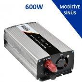12 Volt 600 Watt Modifiye Sinüs İnverter