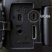 Pentax Optio serisi USB Data Şarj AV Görüntü Kablosu-4