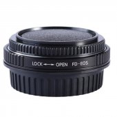 Canon Eos İçin, Canon Fd Lens Adaptörü Optikli...