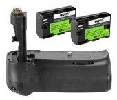 Canon Eos 70d 80d 90d İçin Meike Mk 70d Battery...