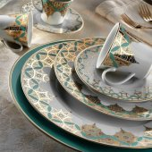 Kütahya Porselen Iris 97 Parça Yemek Takımı 8839