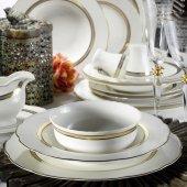 Kütahya Porselen Bone Olympos 62 Parça Yemek Takımı 9435