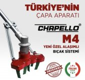 Chapello M4 Motorlu Tırpan Ucu Uyumlu Çapa...