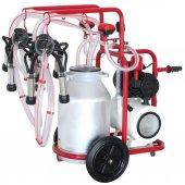 Bartech Çift İnek Süt Sağım Makinası 40lt Hava Tanklı