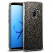 Samsung Galaxy S9 Kılıf Shining Siyah Silikon
