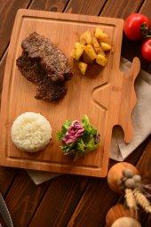 Bambum Rodeo Kesme & Steak Tahtası
