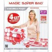 Magic Saver Bag 2li Xxlarge Vakumlu Hurç Poşet...