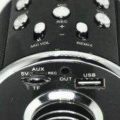 WS-858 Karaoke Bluetooth Mikrofon ve Taşınabilir Hoparlör-3