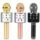 WS-858 Magic Karaoke Bluetooth Mikrofon Aux SD Card Fm Radyo Kara