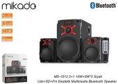 Mikado MD-1512 2+1 10W+5W*2 Siyah Usb+SD+Fm Destekli Multimedia B-2
