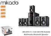Mikado MD-856 5+1 Usb+SD+FM Destekli Multimedia Bluetooth Speaker-3