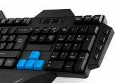 Everest Rampage KB-R01 Siyah USB Makrolu Gaming Q Multimedia Klav-3