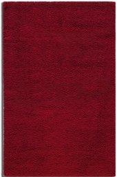 Rixos Loft serisi yumuşak narin bir shaggy halı kırmızı