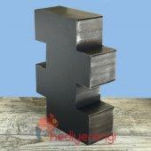 Retro Plakalar Temalı 4 Çekmeceli Ahşap Minyatür Komidin-5