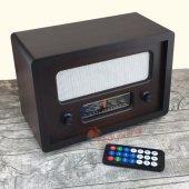 Nostaljik Ahşap Gerçek Radyo Büyük Boy (Mp3 Çalar)-2