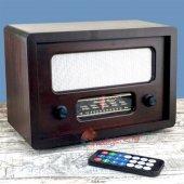 Nostaljik Ahşap Gerçek Radyo Büyük Boy (Mp3 Çalar)-3