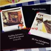 İsme Özel Eyfel Kulesi Temalı Ahşap Kendin Yap Fotoğraf Albümü ve-3
