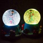 Sevgiliye Hediye Kar Küresi Müzik Kutusu Ve Gece Lambası