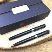İsme Özel Tasarım Kutulu 2li Lacivert Kalem Seti