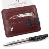 U.s. Polo Assn. İsme Özel Deri Erkek Kartlık