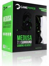 GamePower Medusa Siyah 7.1 Oyuncu Kulaklığı-7