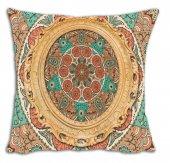 Mrs Pillow Andrea İ 07 Desenli Kırlent Kılıfı 70x70cm Ebadında